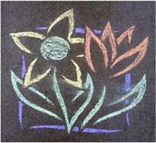 chalk photo