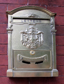 photo of letterbox