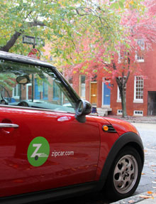 photo of Zipcar
